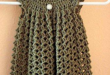 robes Coquin pour crochet bébé. conduire cocette
