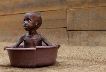 El hambre en África