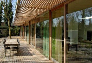 Ganek drewnianego domu – to jest piękne i wygodne
