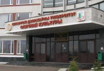 BGUFK (bielorruso de la Universidad Estatal de entrenamiento físico): descripción, características admisión, especialidad y comentarios