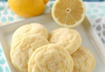 galletas de limón: recetas