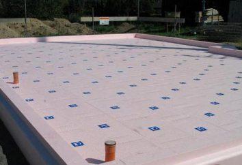 Isolation thermique de la base de polystyrène extrudé: technologie et commentaires