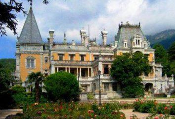 Parco di Massandra a Yalta, Crimea (foto). Finca in Massandra Parco
