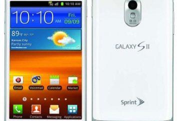 Samsung Galaxy S2: características de diseño, comentarios, descripciones y fotos
