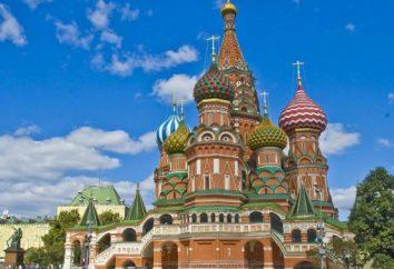 Katedra św. Bazylego (Katedra Wstawiennictwa Matki Boskiej na Rów) w Moskwie: opis, historia, kopuły