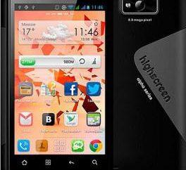 Smartphone Highscreen Alpha R: przegląd modeli, opinie klientów i ekspertów