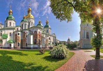 Catedral de Santa Sofia em Kiev – património cultural da Ucrânia