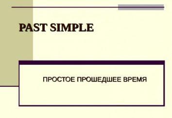 Ciò che è semplice passato? Passato il tempo semplice (Simple paste) in Inglese