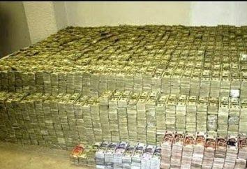 La ricchezza o la povertà ci aspetta? Perché il sogno di un sacco di soldi di carta?