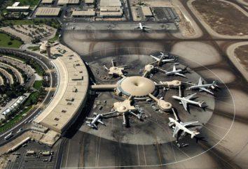 Abu Dhabi Aeroporto. Aeroportos mundo