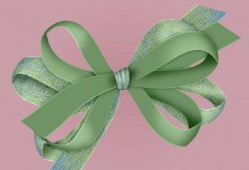 Como amarrar um laço de fita ou papel colorido?