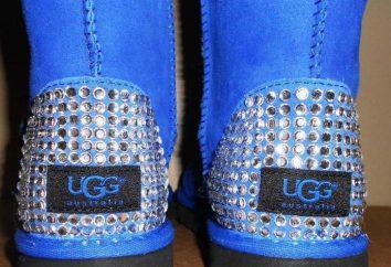 bottes UGG avec strass – chaussures à la mode et confortables tous les jours
