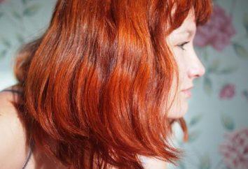 Différentes teintes de henné pour les cheveux