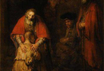"""""""Powrót syna marnotrawnego"""" – Rembrandt"""