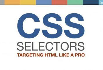 Selektory CSS. typy selektorów
