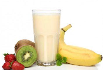 Vorbereiten Milkshakes – lecker, gesund und diätetischer