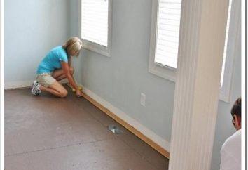 Comment aligner les planchers en bois: un processus particulier