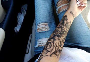 Tatuaże dla dziewczyn na przedramieniu – modne i oryginalne