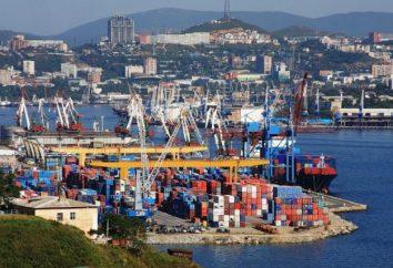 Port maritime de Vladivostok et ses activités