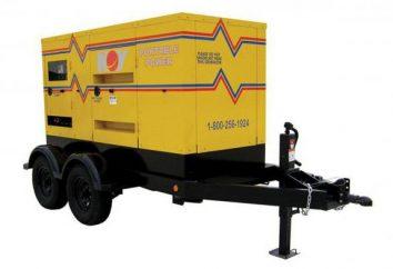 Generator 100 kW diesel: opis, dane techniczne i wskaźniki