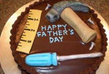 ¿Qué debe ser un pastel para un papá?