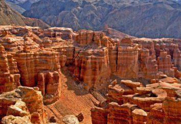 Charyn Canyon in Kazakhstan: descrizione e foto
