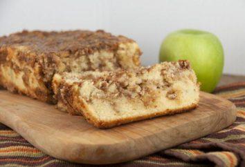 Charlotte du pain aux pommes: la recette à la hâte
