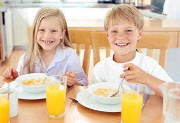 Śniadanie dla dzieci. Co powinienem gotować dla mojego dziecka na śniadanie?
