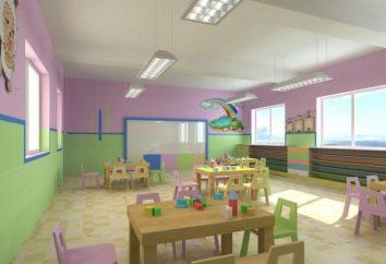 Faire le mur dans le jardin d'enfants: Rainbow Group