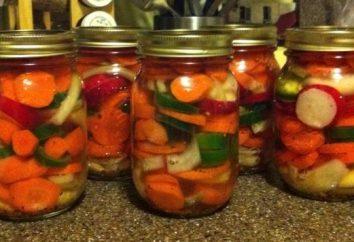 Várias opções de cozinha variados legumes para o inverno