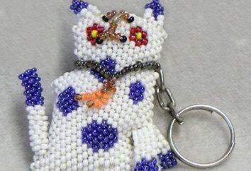 Comment faire un porte-clés en perles
