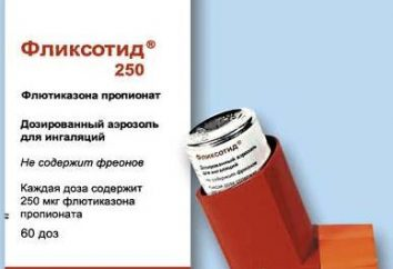 """Fliksotid"": istruzioni per l'uso, recensioni. analoghi di droga"
