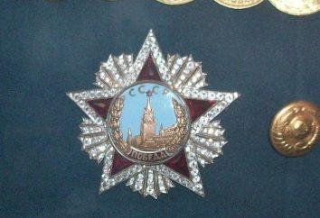 Ordre de la Victoire: le plus cher prix URSS