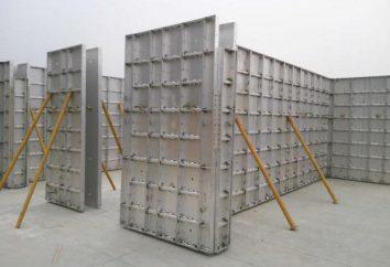 Cofragem de alumínio: vantagens, desvantagens, tecnologia de instalação