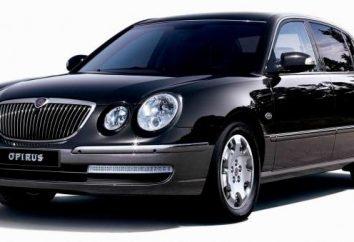 """Nietypowy koreański samochód """"Kia-Opirus"""""""