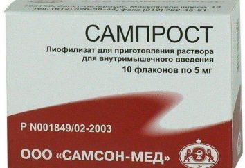 """""""Samprost"""": Bewertungen von Ärzten und Patienten über die Droge"""