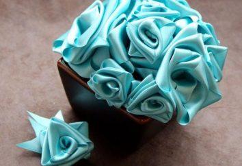 Uniwersalny urody, lub jak zrobić kwiat z taśmy: szczegółowy master class