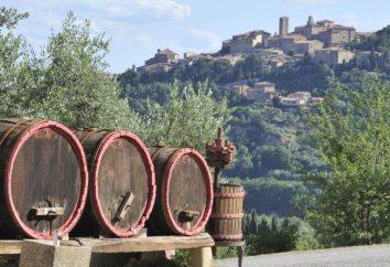 "Wina ""Montepulciano"": opis i opinie"