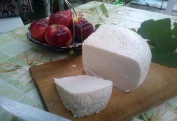 Smaczne i pożywne sałatki z serem Adygei