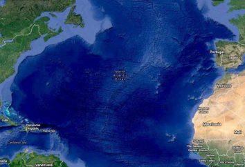 Der salzigsten Ozean: erstaunliche Merkmale des Atlantiks