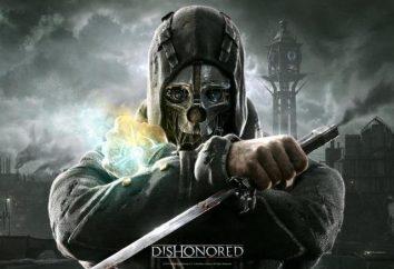 Das Spiel Dishonored: Geheimnisse und Ostereier, Räte für die Passage, die Codes