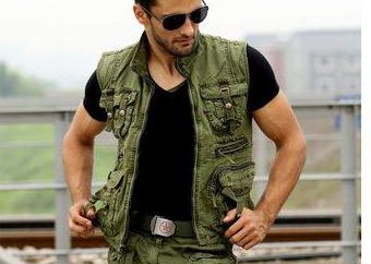 Military-Stil für Männer: der Stil-Funktionen und Zubehör