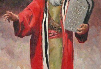 A história bíblica de Moisés. A história do profeta Moisés