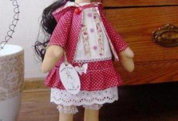 boneca Snowball – doce encanto têxtil