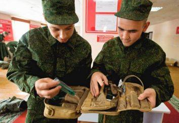 Sac de bagage de l'armée – une partie de l'équipement militaire