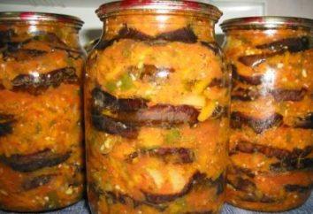 Salazón la berenjena para el invierno: recetas