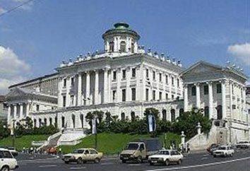 Pashkov Casa en Moscú. Pashkov Casa en Moscú, viajes, foto, dirección