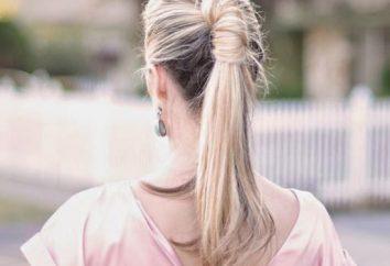 Como fazer um penteado bonito de caudas?