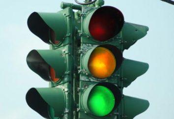 las señales de tráfico. reglas de la carretera
