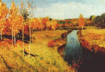 """Isaak Levitan, """"Złota Jesień"""". Skład obrazu"""